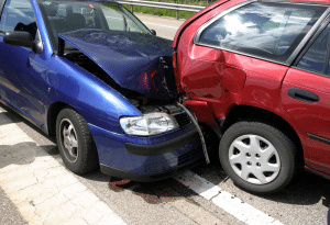 Automobile Accident Scene