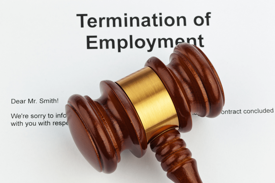 Termination of Employment with Gavel